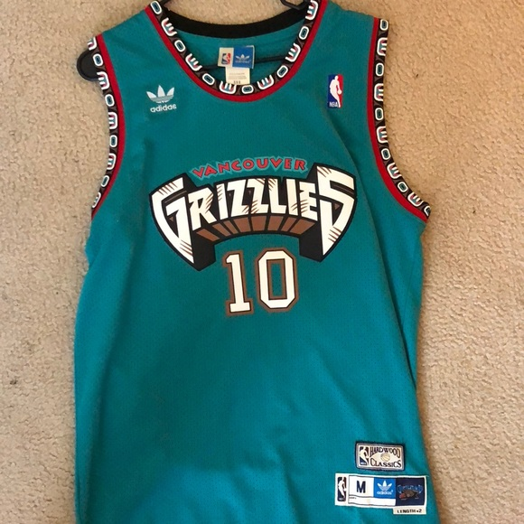 ddd9de4baf9 adidas Other - Vancouver Grizzlies Mike Bibby Jersey